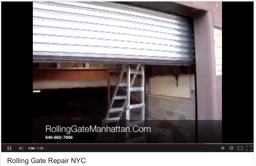 Rolling Gates NYC