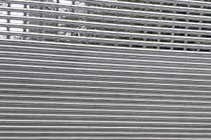 rolling solid and grille gate