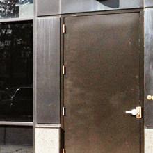 23) Iron door