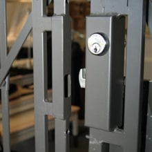 24) Iron Gate Lock