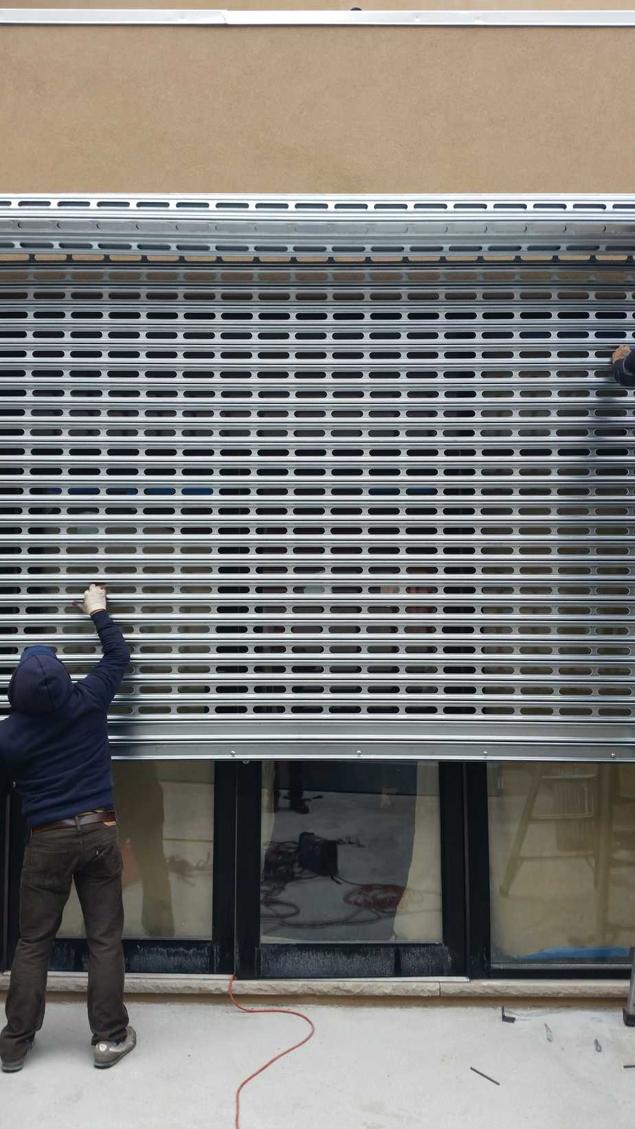 Perforated Rolling Gate Rolling Gates Nyc