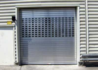6) Roll Up Door