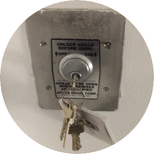 gate key switch
