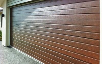 Garage door residential roll up garage door inspiring for Residential wood doors