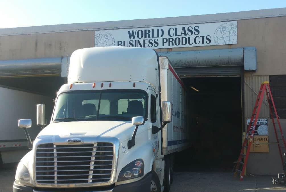 A Truck Got Stuck Under A Gate