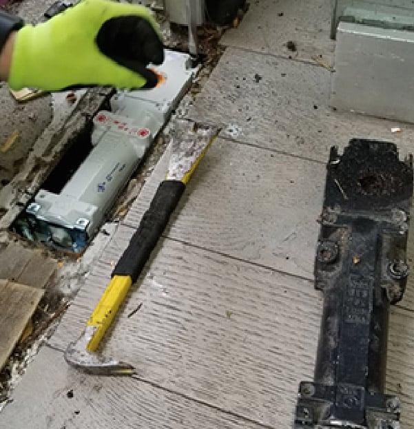 Floor Door Closer Adjustment